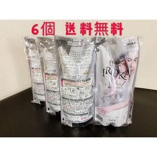 フレアフレグランス 柔軟剤 IROKA 詰め替え 480ml×6個(洗剤/柔軟剤)