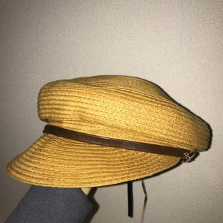 ジーユー(GU)のマリンキャップ キャスケット(ハンチング/ベレー帽)