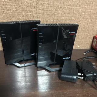 バッファロー(Buffalo)の無線LAN ルータバッファロー 社製2台(PC周辺機器)