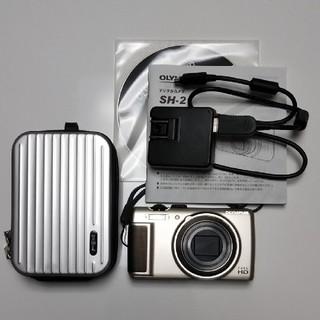 オリンパス(OLYMPUS)のオリンパス デジカメ SH-21 ハードケース付き(コンパクトデジタルカメラ)