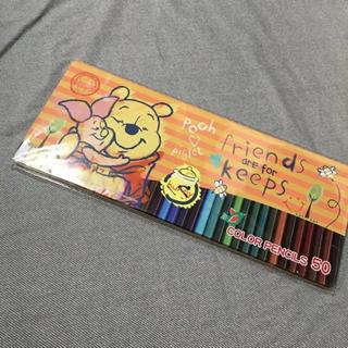ディズニー(Disney)の新品 未使用 プーさん 色鉛筆(色鉛筆 )