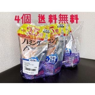 ハミング 柔軟剤 ヨーロピアンジャスミンソープの香り 詰め替え 1200ml×4(洗剤/柔軟剤)