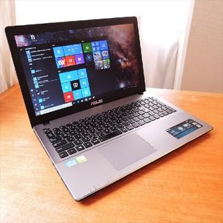 ASUS - Windows10/i5/GT720M/8G/SSD/ゲーミング X550V