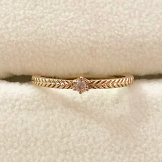 ジルスチュアート(JILLSTUART)のJILLSTUART ダイヤモンドリング(リング(指輪))