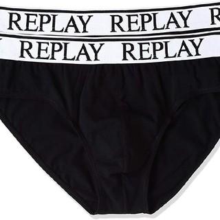 リプレイ(Replay)の新品未使用 リプレイ ビキニブリーフ サイズ:L ブラック(その他)