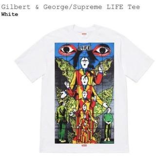 シュプリーム(Supreme)の 19ss Supreme Gilbert & George LIFE Tee (Tシャツ/カットソー(半袖/袖なし))