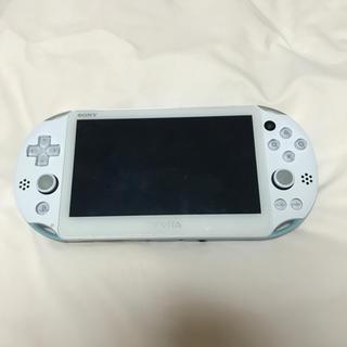 プレイステーションヴィータ(PlayStation Vita)のPSVita 水色(携帯用ゲーム本体)
