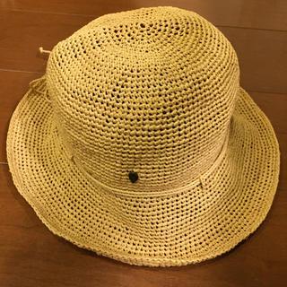 ヘレンカミンスキー(HELEN KAMINSKI)のヘレンカミンスキー 帽子 ナチュラル プロヴァンス 8 ラフィア 麦わら帽子(麦わら帽子/ストローハット)