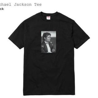 シュプリーム(Supreme)のSupreme 17SS マイケルジャクソン Tシャツ 黒 L(Tシャツ/カットソー(半袖/袖なし))