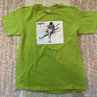 シュプリーム(Supreme)のSupreme×AKIRA Yamagata Tee 黄緑L(Tシャツ/カットソー(半袖/袖なし))