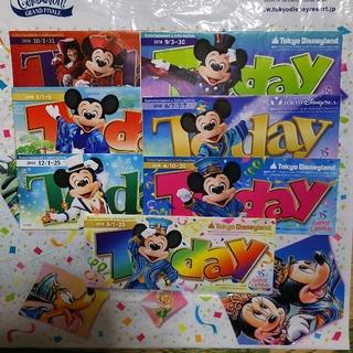 ディズニー(Disney)のtodayディズニー35周年ミッキー&ミニー(印刷物)