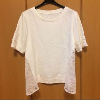 ジーユー(GU)のジーユー Lサイズ 半袖 カットソー(カットソー(半袖/袖なし))