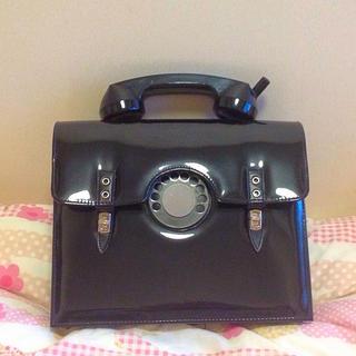 シンアンドカンパニー(SHIN&COMPANY)の黒電話バッグ(ハンドバッグ)