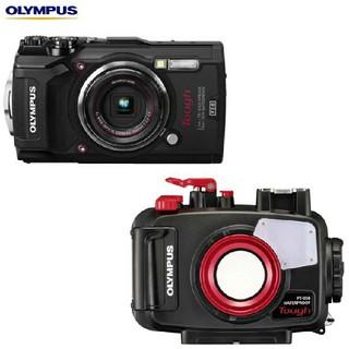 オリンパス(OLYMPUS)のTG5ハウジング+カメラ(コンパクトデジタルカメラ)