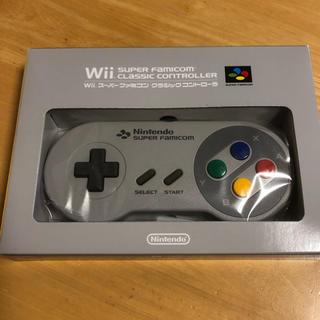 ウィー(Wii)の【WIi】スーパーファミコン クラシックコントローラ(家庭用ゲーム本体)
