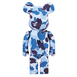 A BATHING APE - 限定品 ベアブリック BE@RBRICK ABC CAMO 1000% BLUE