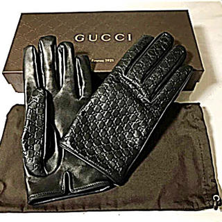 グッチ(Gucci)のGUCCI 手袋 本革 新品未使用 値下げ交渉歓迎(手袋)
