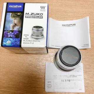 OLYMPUS - OLYMPUS単焦点レンズ  45mm