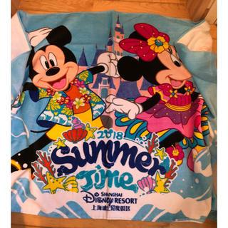 ディズニー(Disney)の上海ディズニー限定 大判バスタオル(タオル/バス用品)