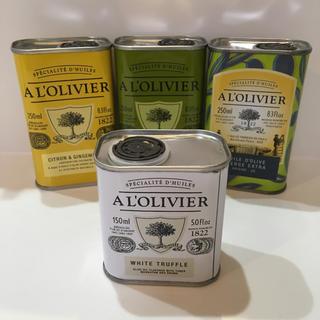 A L'OLIVIER オリーブオイル 4本セット(調味料)