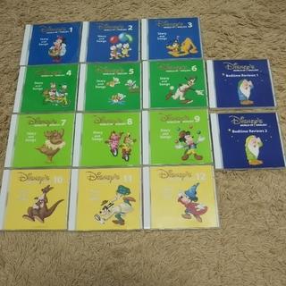 ディズニー(Disney)のディズニー 英語 Story and Songs CD 14枚セット(知育玩具)