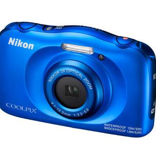 Nikon ニコン COOLPIX A300BL 防水 耐衝撃タフカメラ(コンパクトデジタルカメラ)