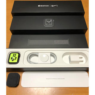 Apple - Apple Watch series 4 NIKE+ Cellular