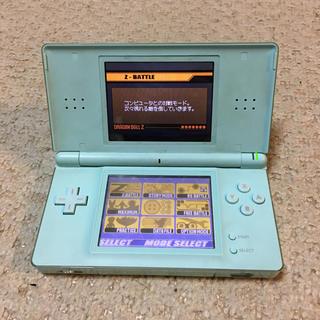 ニンテンドーDS(ニンテンドーDS)の任天堂 DSLite グリーン(携帯用ゲーム本体)