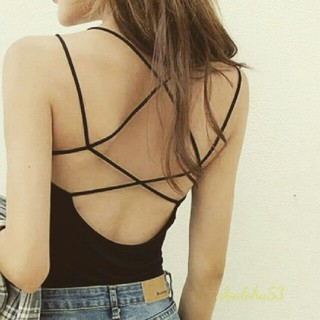 ALEXIA STAM - back open camisole