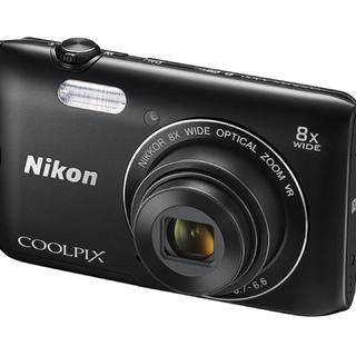 Nikon ニコン COOLPIX A300 黒 新品未使用送料込み 最安値(コンパクトデジタルカメラ)