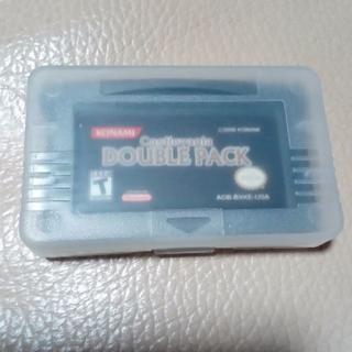ゲームボーイアドバンス(ゲームボーイアドバンス)のGBA Castlevania Double Pack 海外版 ドラキュラ(携帯用ゲームソフト)
