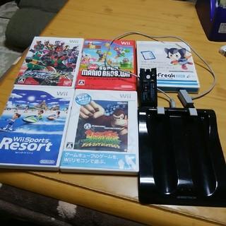 ウィー(Wii)のwii用ソフト&周辺機器等(家庭用ゲーム本体)