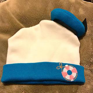 ディズニー(Disney)のディズニー ドナルドニット帽(ニット帽/ビーニー)