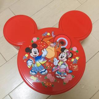 ディズニー(Disney)のディズニー お正月 小物入れ お重(小物入れ)