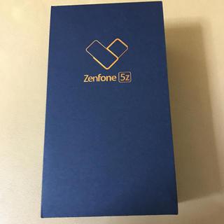 ANDROID - 新品 未開封 未使用 ASUS Zenfone5z シルバー