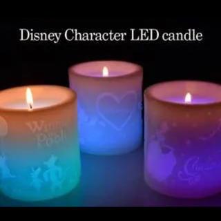 ディズニー(Disney)のディズニーLEDキャンドル(キャンドル)