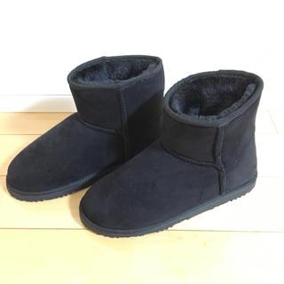 ローリーズファーム(LOWRYS FARM)のムートンブーツ新品未使用 ブラック(ブーツ)