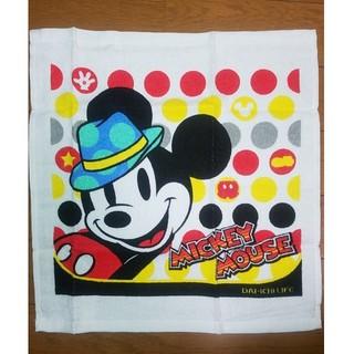 ディズニー(Disney)のミッキーフェイスタオル(タオル/バス用品)
