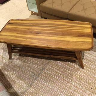 天然木テーブルお値下げ❗️(ローテーブル)