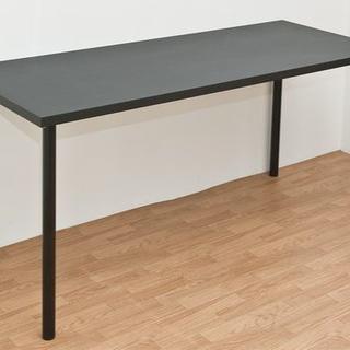 フリーテーブル 150cm幅 奥行き60cm ty1560BK(オフィス/パソコンデスク)