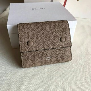 celine - 大人気 財布 CELINE セリーヌ 三つ折り財布