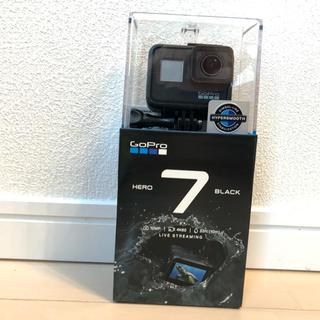 ゴープロ(GoPro)の新品未開封 GoPro HERO7 BLACK CHDHX701-FW 保証証付(ビデオカメラ)
