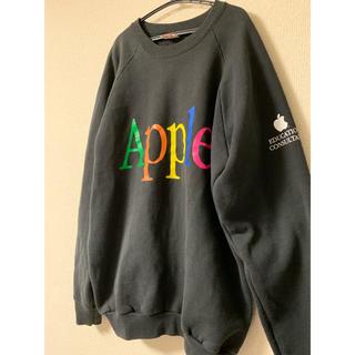 アップル(Apple)の☆ 80s   激レア Apple アップル ロゴ スウェット ☆(スウェット)