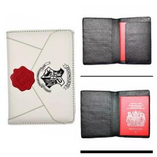 ハリー・ポッター ホグワーツ魔法学校 入学許可証 パスポートケース(旅行用品)