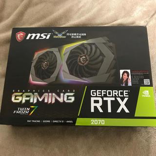 MSI RTX 2070 GAMING (PCパーツ)