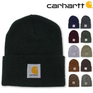 カーハート(carhartt)の(Carhartt)ニット黒(ニット帽/ビーニー)