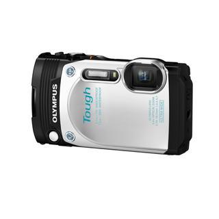 オリンパス(OLYMPUS)のOLYMPUS STYLUS TG-870 Tough ホワイト(コンパクトデジタルカメラ)