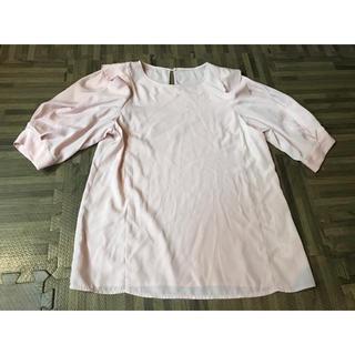 アンレリッシュ(UNRELISH)のふんわり袖ブラウス 新品試着のみ(シャツ/ブラウス(半袖/袖なし))