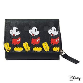 ディズニー(Disney)のmini ミニ 2019年 2月 付録 X-girl ミッキー 三つ折り財布(ファッション)