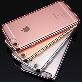 c0b83e7eb3 透明 tpu アイフォンケース メッキ加工 輝く メタリック感 軽い 薄い(iPhoneケース)